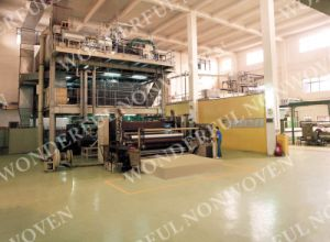 Newest Design 3.2m Ss Polypropylene Spun Bond Nonwoven Machinery pictures & photos