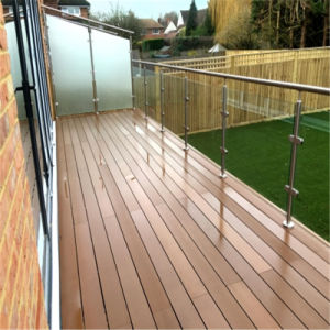 Balcony Stainless Steel Framed Glass Balustrade Railing System pictures & photos