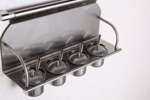 Simple Style Kitchen Accessories Stainless Steel Spice Rack (609) pictures & photos