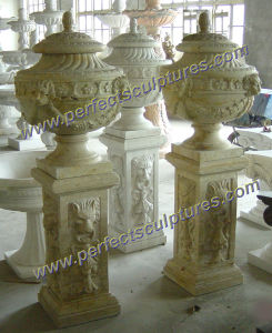 Garden Flower Planter for Stone Marble Planter (QFP248) pictures & photos