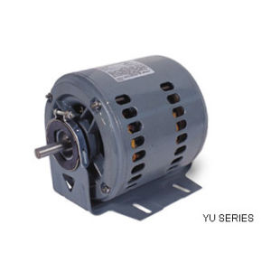 YU Series Single Phase Resistance Start Double Speed/Steel Housing Motor pictures & photos