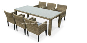 4 Seat Contemporary Rattan Outdoor Garden Furniture Dining Set pictures & photos