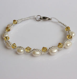 Cheap Fanncy Freshwater Pearl Bracelet (EB1511-1) pictures & photos