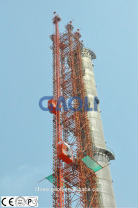 Single Cage CE Approved Building Construction Hoist (SC270TD) pictures & photos