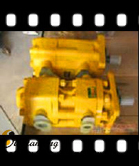 Bulldozer Parts SD16 Double Pump