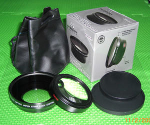 67mm 0.45x Wide Conversion Lens, Includes Lens Cap and Case