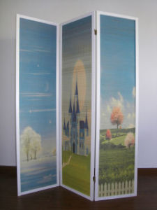 3-Panel Folding Screen (WH3002)