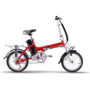 En15194 Aprroved Lithium Battery 16′ Foldable Electric Bike (CB-16F01) pictures & photos