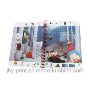 Spiral Binding Colorful Child Book Printing Service (jhy-343) pictures & photos