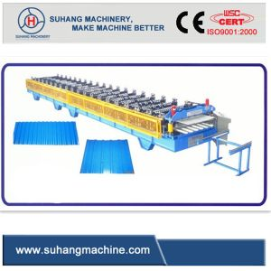 [ Australian Technology] Double Layer Roof Sheet Roll Forming Machine pictures & photos