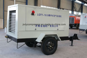 Air Cooled Mobile Portable Screw Air Compressor pictures & photos