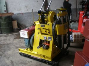 Portable Trailer Mounted Core Drilling Rig (XUL-100)