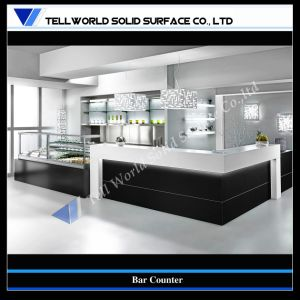 Customized Artificial Stone Modern Home Bar Design (TW-071 ...
