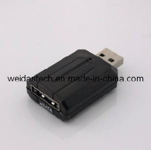 USB3.0 to eSATA 3gbps Adapter pictures & photos