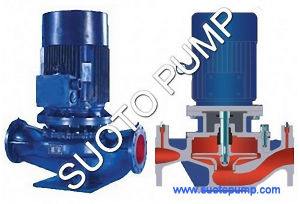 Single Stage Single Suction Centrifugal Inline Pump (ISG) pictures & photos