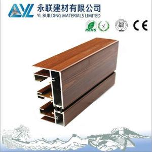 Factory Price Wood Grain Aluminum for Aluminium Windows pictures & photos