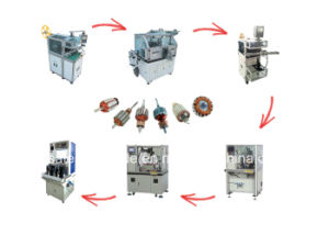 Automatic Armature Winding Machine Rotor Electric Motor Production Line pictures & photos