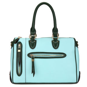 Made in China Wholesale Women Turquoise Unique Handbags (MBLX033079) pictures & photos