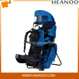 Hiking Campingtravel Sport Mountaineering Bag Zipper Hiking Backpack pictures & photos