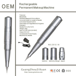 Rechargeable Tattoo Permanent Cosmetic Machine pictures & photos