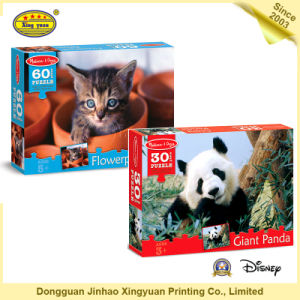 Jigsaw Puzzle Animal Card Game