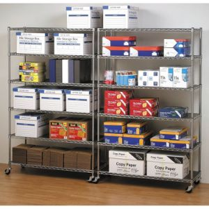 Mobile Wire Shelving for Garage and Warehouse pictures & photos