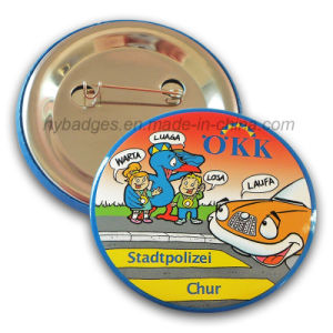 Promotion Cartoon Tin Badge Offset Printing Badge (HY-MKT-040) pictures & photos