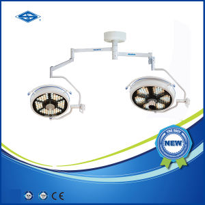 Double Dome Ceiling Shadowless LED Surgical Light (700/500 LED) pictures & photos