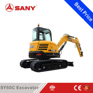 Sany Sy50 5 Ton Small Crawler Hydraulic Excavator Construction Machinery pictures & photos