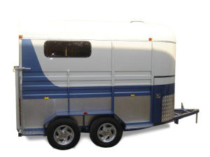 Horse Trailer 2 - Horse Straight Load Lengthened Trailer (CK-2HSL-L400)