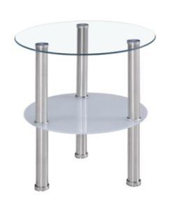 Round Glass Side Table, Corner Table, Little Coffee Table (C30) pictures & photos
