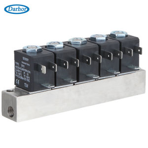 Normally Closed Manifold Solenoid Valve Dhz21