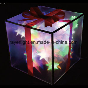 LED Wedding and Christmas Yard Decoration Elegant Decor Gift Box Light pictures & photos