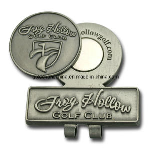Personalized Metal Hat Clip with Ball Marker (HC04) pictures & photos