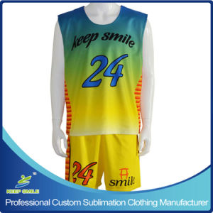 Custom Sublimation Lacrosse Clothing with Reversible Top and Short pictures & photos