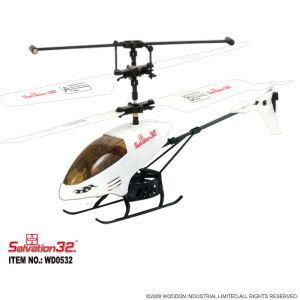 Infrared Congrol RC Toy Mini Helicopter (WD0532)