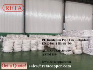 Single Black Insulation Copper Pipe with Nuts pictures & photos