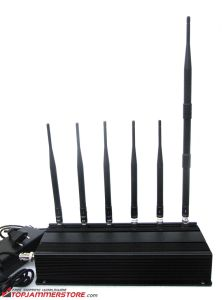 6 Antenna Cell Phone Lojack RF Jammer GSM, CDMA, Dcs, PCS, Lojack, RF315MHz433MHz pictures & photos