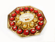 24 Pieces Colorful Octagon Box Chocolate (B24C1)