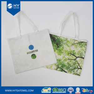 Custom Digital Printed Canvas Cotton Shopping Tote Bag pictures & photos