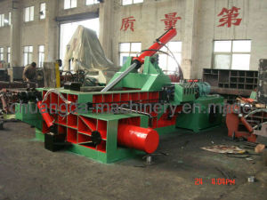 Manual Oation Perscrap Waste Metal Baler Yd1600A pictures & photos