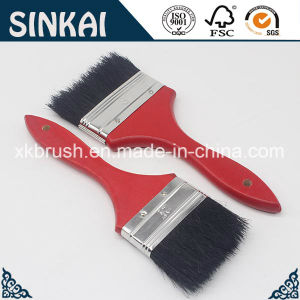 Top Grade Black Bristle Paint Brush with Good Price pictures & photos