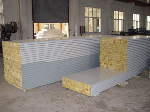 Rock Wool Sandwich Panel Line pictures & photos