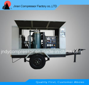 Portable Screw Type Air Compressor pictures & photos