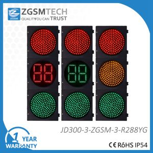 300mm Traffic Signal Red Green and Countdown Timer pictures & photos