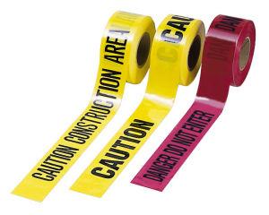 PE Caution Tape as Roadway Danger Caution pictures & photos