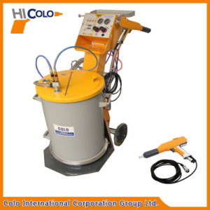 Manual Powder Coating Spray Gun with Fluidizing Hopper pictures & photos