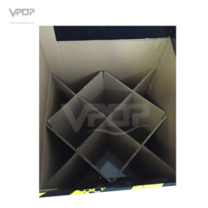 Square Cardboard Dump Bin for Hand Tool Holding 100kgs pictures & photos