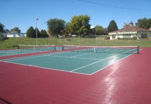 Interlocking PP Sport Court (Tennis Court)