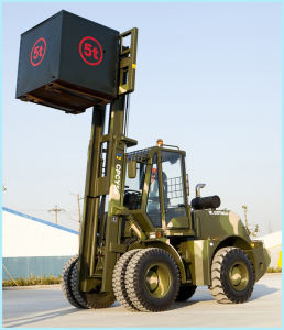 4X4 Forklift Awd Forklift off Road Forklift pictures & photos
